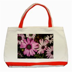 Beautiful Colourful African Daisies  Classic Tote Bag (red)  by OZMedia