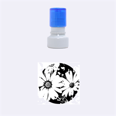 Beautiful Colourful African Daisies  Rubber Round Stamps (Small) by OZMedia
