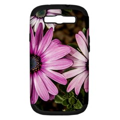 Beautiful Colourful African Daisies  Samsung Galaxy S Iii Hardshell Case (pc+silicone) by OZMedia