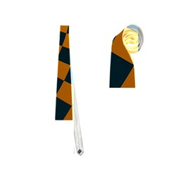 Abstract Square Checkers  Neckties (two Side)  by OZMedia