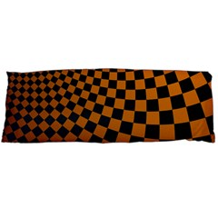 Abstract Square Checkers  Body Pillow Cases (dakimakura)  by OZMedia