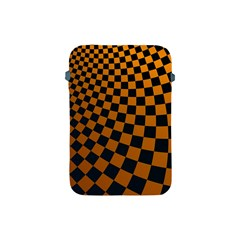 Abstract Square Checkers  Apple Ipad Mini Protective Soft Cases by OZMedia