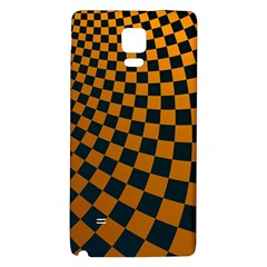 Abstract Square Checkers  Galaxy Note 4 Back Case