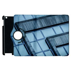 Abstract View Of Modern Buildings Apple Ipad 3/4 Flip 360 Case by OZMedia