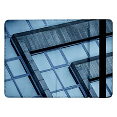 Abstract View Of Modern Buildings Samsung Galaxy Tab Pro 12 2  Flip Case by OZMedia