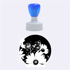 Beautiful Colourful African Daisies  Rubber Round Stamps (medium) by OZMedia