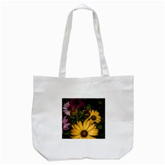 Beautiful Colourful African Daisies  Tote Bag (white)  by OZMedia