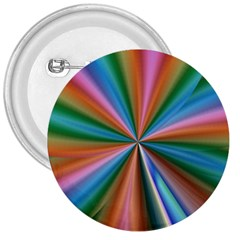 Abstract Rainbow 3  Buttons by OZMedia