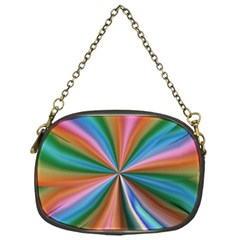 Abstract Rainbow Chain Purses (one Side)  by OZMedia