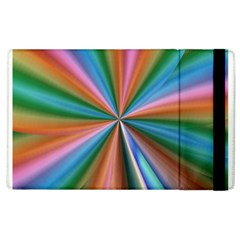 Abstract Rainbow Apple Ipad 3/4 Flip Case by OZMedia