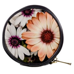 Beautiful Colourful African Daisies Mini Makeup Bags by OZMedia