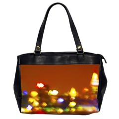 City Lights Office Handbags (2 Sides)  by BIBILOVER