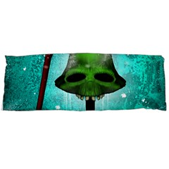 I Wish You A Merry Christmas, Funny Skull Mushrooms Body Pillow Cases (dakimakura)  by FantasyWorld7