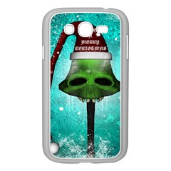 I Wish You A Merry Christmas, Funny Skull Mushrooms Samsung Galaxy Grand DUOS I9082 Case (White) by FantasyWorld7