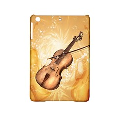 Wonderful Violin With Violin Bow On Soft Background iPad Mini 2 Hardshell Cases by FantasyWorld7