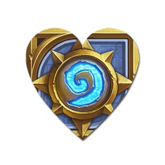 Hearthstone Update New Features Appicon 110715 Heart Magnet by HearthstoneFunny