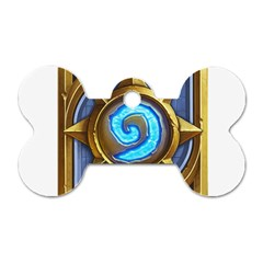 Hearthstone Update New Features Appicon 110715 Dog Tag Bone (one Side) by HearthstoneFunny
