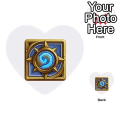 Hearthstone Update New Features Appicon 110715 Multi Purpose Cards (heart)  by HearthstoneFunny