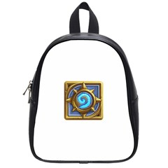Hearthstone Update New Features Appicon 110715 School Bags (small)  by HearthstoneFunny