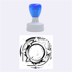 Hearthstone Update New Features Appicon 110715 Rubber Round Stamps (medium)