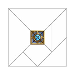 Hearthstone Update New Features Appicon 110715 Acrylic Tangram Puzzle (6  X 6 ) by HearthstoneFunny