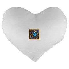 Hearthstone Update New Features Appicon 110715 Large 19  Premium Heart Shape Cushions by HearthstoneFunny