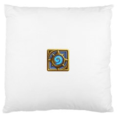 Hearthstone Update New Features Appicon 110715 Large Flano Cushion Cases (two Sides)