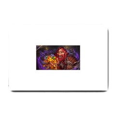 Hearthstone Gold Small Doormat  by HearthstoneFunny