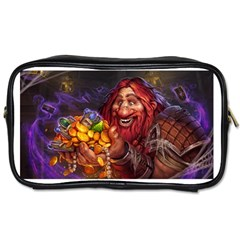Hearthstone Gold Toiletries Bags 2 Side by HearthstoneFunny
