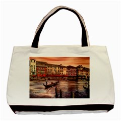 Venice Basic Tote Bag (two Sides)  by ArtByThree