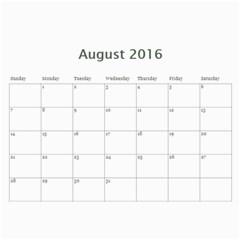 Hug Cal 2016 By Zackspacks   Wall Calendar 11  X 8 5  (12 Months)   Nbsccp2ljg22   Www Artscow Com Aug 2016