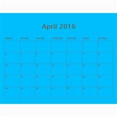 Hug Cal 2016 By Zackspacks   Wall Calendar 11  X 8 5  (12 Months)   Nbsccp2ljg22   Www Artscow Com Apr 2016