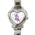 Jewish Veg01 12 7 2015 Heart Italian Charm Watch