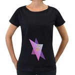 Jewish Veg01 12 7 2015 Women s Loose-Fit T-Shirt (Black)
