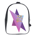 Jewish Veg01 12 7 2015 School Bag (Large)