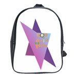 Jewish Veg01 12 7 2015 School Bag (XL)