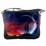 Moon Messenger Bag