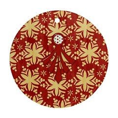 Bah Humbug Ornament By Lisa Minor   Round Ornament (two Sides)   Cxmkjh8zov6y   Www Artscow Com Back