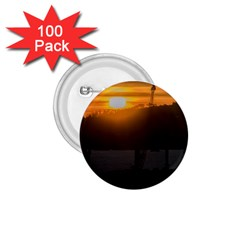 Aerial View Sunset Scene Of Montevideo Uruguay 1 75  Buttons (100 Pack)  by dflcprints