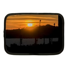 Aerial View Sunset Scene Of Montevideo Uruguay Netbook Case (medium)  by dflcprints