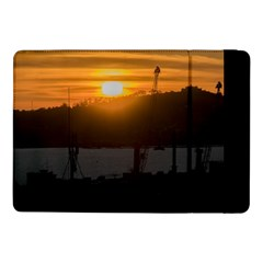 Aerial View Sunset Scene Of Montevideo Uruguay Samsung Galaxy Tab Pro 10 1  Flip Case by dflcprints