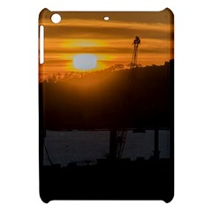 Aerial View Sunset Scene Of Montevideo Uruguay Apple Ipad Mini Hardshell Case by dflcprints
