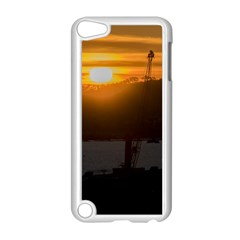 Aerial View Sunset Scene Of Montevideo Uruguay Apple Ipod Touch 5 Case (white) by dflcprints