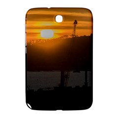 Aerial View Sunset Scene Of Montevideo Uruguay Samsung Galaxy Note 8 0 N5100 Hardshell Case  by dflcprints