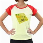 vegan jstar_12_7_2015 Women s Cap Sleeve T-Shirt