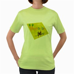 vegan jstar_12_7_2015 Women s Green T Front