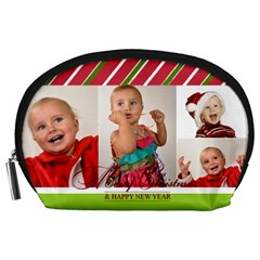Xmas By Man   Accessory Pouch (large)   Jpjhirvmqwrb   Www Artscow Com Front