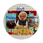 2015 Finley - Round Ornament (Two Sides)