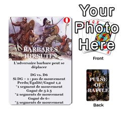Pulse Of Battle Barbares By Antoine Bourguilleau   Playing Cards 54 Designs   2yb14s5xt79m   Www Artscow Com Front - Diamond5