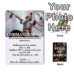 Pulse Of Battle Barbares By Antoine Bourguilleau   Playing Cards 54 Designs   2yb14s5xt79m   Www Artscow Com Front - Club2